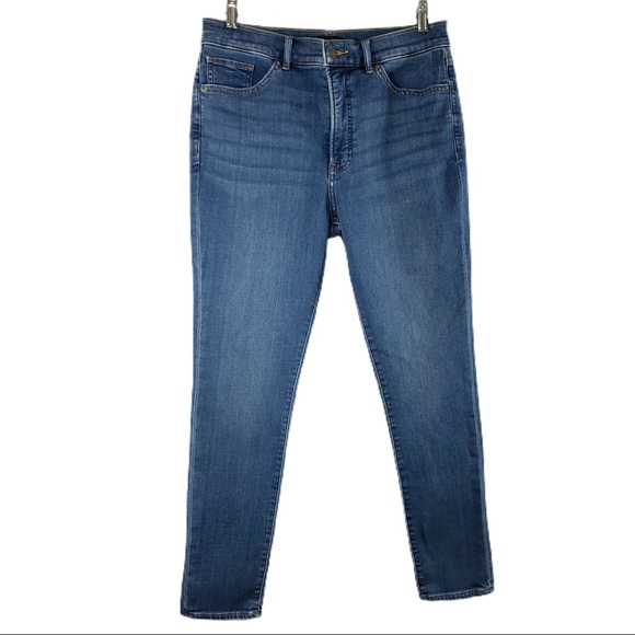 Express High Waisted Luxe Comfort Faded Skinny
